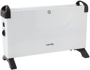 Warmlite Convection Heater with Adjustable Thermostat